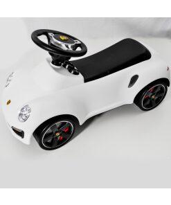 White Licensed Porsche 911 Foot to Floor Ride on-0