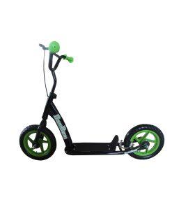BamBam BMX Style Kick Scooter Green/Black-0