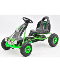 Kids Ride on Pedal Go Kart - Green-0