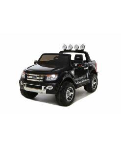 Black 12v Licensed Ford Ranger Pickup Truck Ride on (2 seater)-0