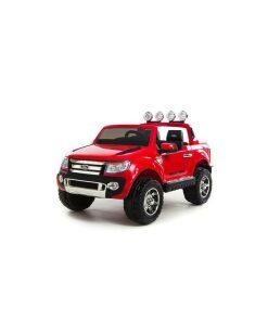 Red 12v Licensed Ford Ranger Pickup Truck Ride on (2 seater)-0