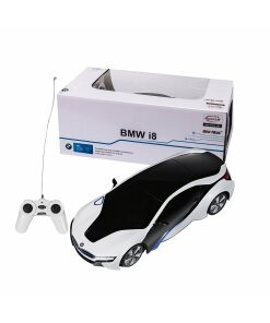 Licensed R/C BMW i8 Car and BMW Helicopter Set-0