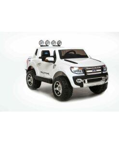 White 12v Ford Ranger Electric Ride on Truck