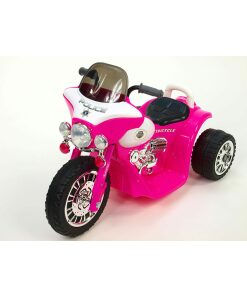 Kids Electric 6v Ride on Motorbike in Pink