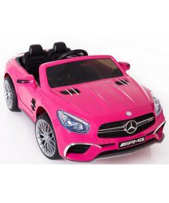 Licensed Pink 12v Mercedes SL65 AMG Ride on Car with Parental Remote Control