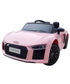 12v Pink Audi R8 Kids Electric Ride on Car