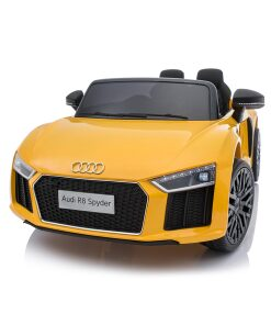 12v Yellow Audi R8 Kids Electric Ride on Car
