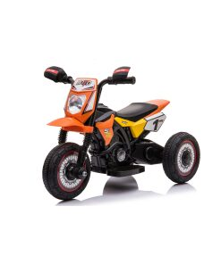 Kids Electric 6v Ride on Motorbike in Orange
