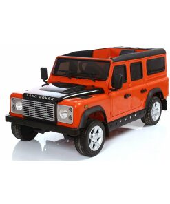 Land Rover Defender Electric Ride on in Orange