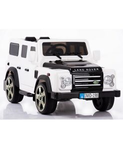 Land Rover Defender Electric Ride on Car in White