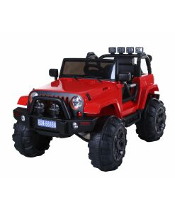 12v Red Ride on Kids Electric Jeep 4x4 SUV