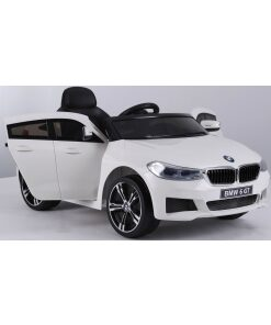 12V BMW GT ELECTRIC RIDE ON CAR WHITE