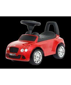 Red Bentley GT ride on car foot to floor