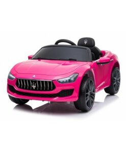 12v Pink Licensed Maserati Ride on Car with Parental Remote Control-0