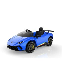 Blue Lamborghini Huracan Ride on Car