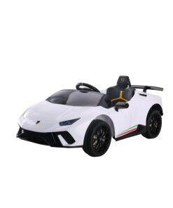 White Lamborghini Huracan Ride on Car