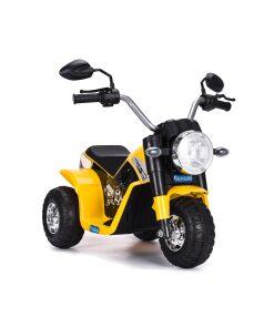 Kids Electric 6v Ride on Trike - Yellow-0